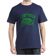 I Like Turtles - T-Shirt
