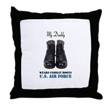 My Dad Throw Pillow