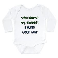 Pinch Cheeks Long Sleeve Infant Bodysuit