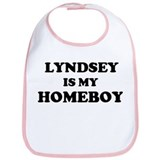 Lyndsey Is My Homeboy Bib