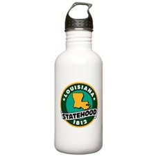 Louisiana Statehood Sports Water Bottle