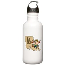 Louisiana Sports Water Bottle