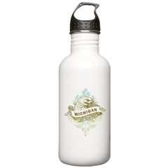 Eagle Michigan Stainless Water Bottle 1.0L
