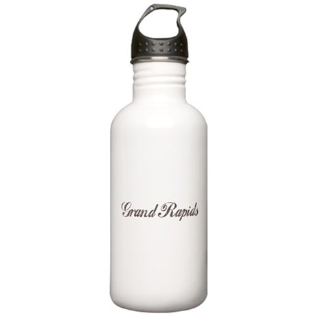 Vintage Grand Rapids Stainless Water Bottle 1.0L