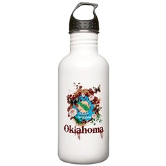 Stylish Oklahoma Water Bottle