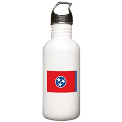 Tennessee Flag Water Bottle