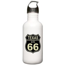 Texas Route 66 Water Bottle
