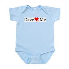 Dave Loves Me Infant Creeper