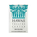 Hawaii Theatre Logo Rectangle Magnet (10 pack)