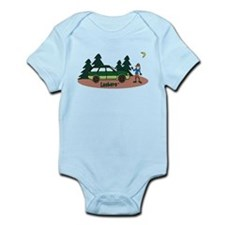 Lesbaru and Leslie Wilderness Infant Bodysuit