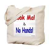 Look Ma No Hands Tote Bag