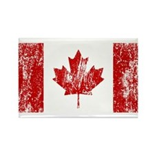 Canada Flag Pride Rectangle Magnet