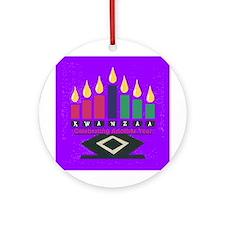 Kwanzaa Ornament (Round)