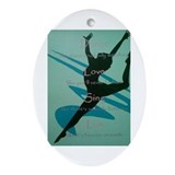 dance Ornament (Oval)