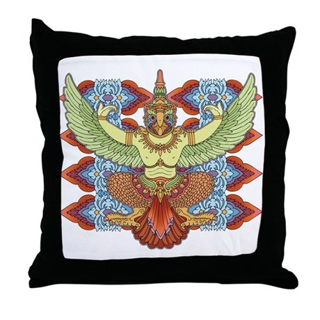 Garuda Throw Pillow