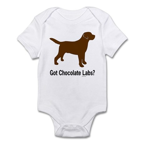 Got Chocolate Labs II Infant Creeper