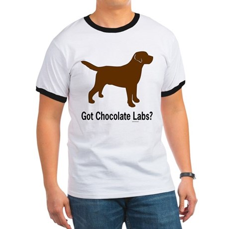 Got Chocolate Labs II Ringer T