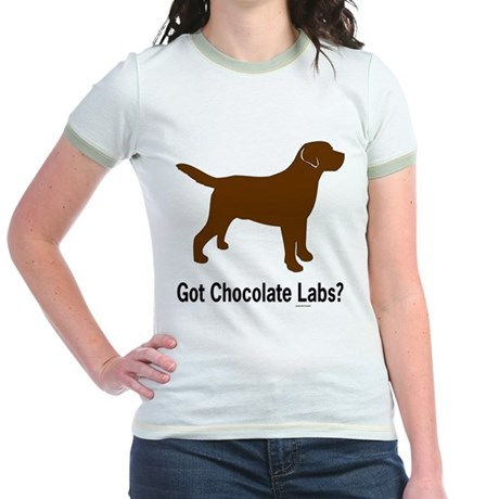 Got Chocolate Labs II Jr. Ringer T-Shirt