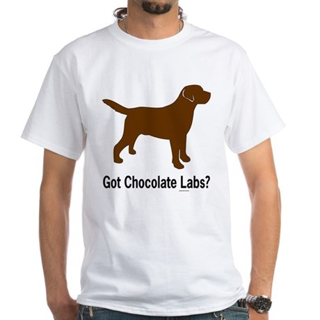 Got Chocolate Labs II White T-Shirt