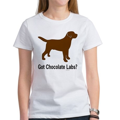 Got Chocolate Labs II Women's T-Shirt