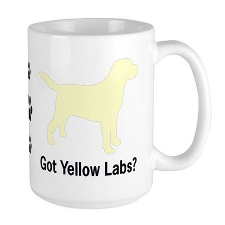 Got Yellow Labs II Large Mug