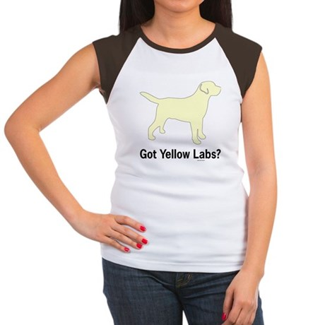Got Yellow Labs II Women's Cap Sleeve T-Shirt