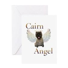 Cairn Terrier Angel Greeting Card