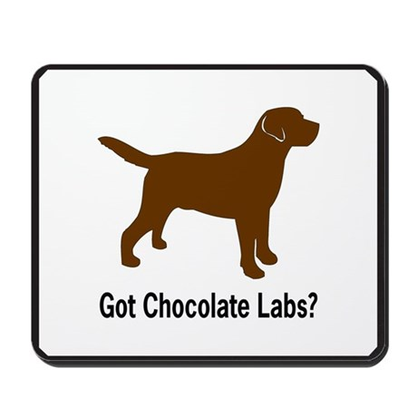 Got Chocolate Labs II Mousepad