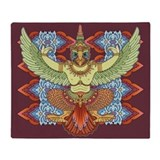 Garuda Throw Blanket