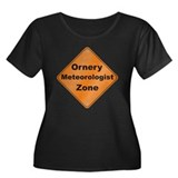 Ornery Meteorologist Women's Plus Size Scoop Neck