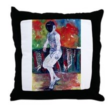 """Morris Coming At You"" Throw Pillow"