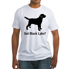 Got Black Labs II Fitted T-Shirt