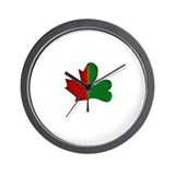 Cute Maple leaf Wall Clock
