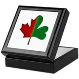Unique Maple leaf Keepsake Box