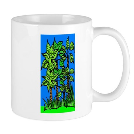 Abstract Trees Mug
