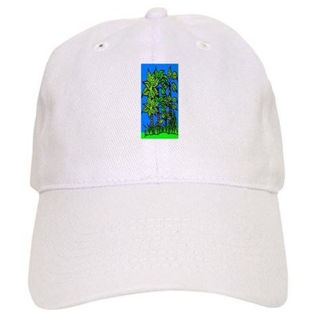 Abstract Trees Cap