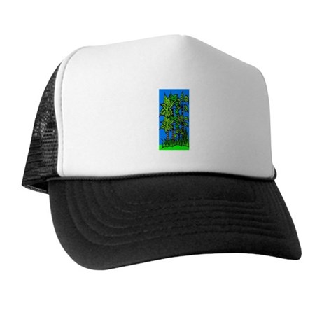 Abstract Trees Trucker Hat