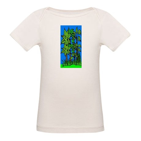 Abstract Trees Organic Baby T-Shirt