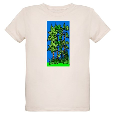 Abstract Trees Organic Kids T-Shirt