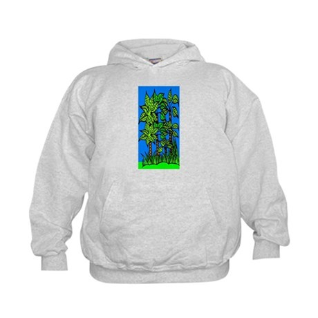 Abstract Trees Kids Hoodie