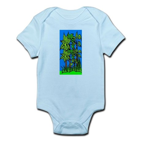 Abstract Trees Infant Bodysuit