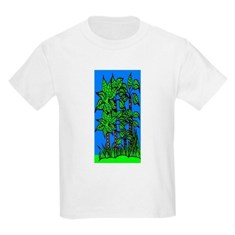 Abstract Trees Kids Light T-Shirt
