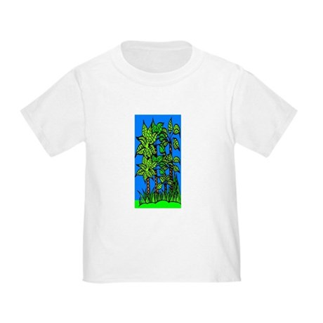 Abstract Trees Toddler T-Shirt