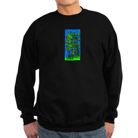 Abstract Trees Sweatshirt (dark)