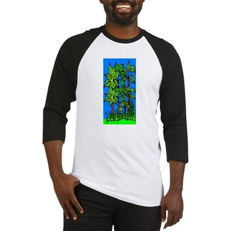 Abstract Trees Baseball Jersey
