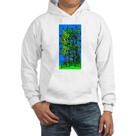 Abstract Trees Hooded Sweatshirt