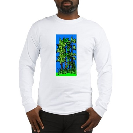 Abstract Trees Long Sleeve T-Shirt