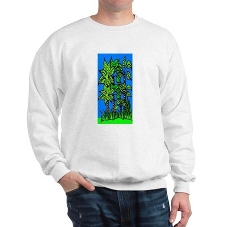 Abstract Trees Sweatshirt