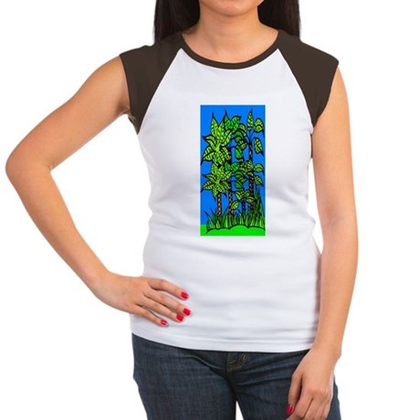 Abstract Trees Women's Cap Sleeve T-Shirt