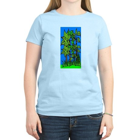 Abstract Trees Women's Light T-Shirt
